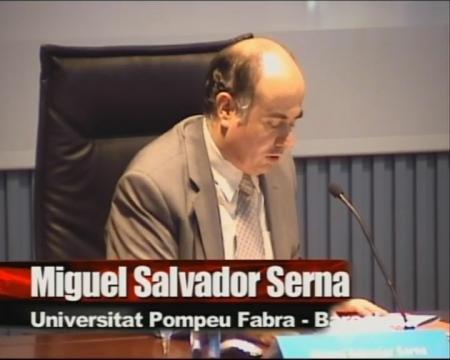 Miquel Salvador Serna. - I Foro sobre Empleo Público
